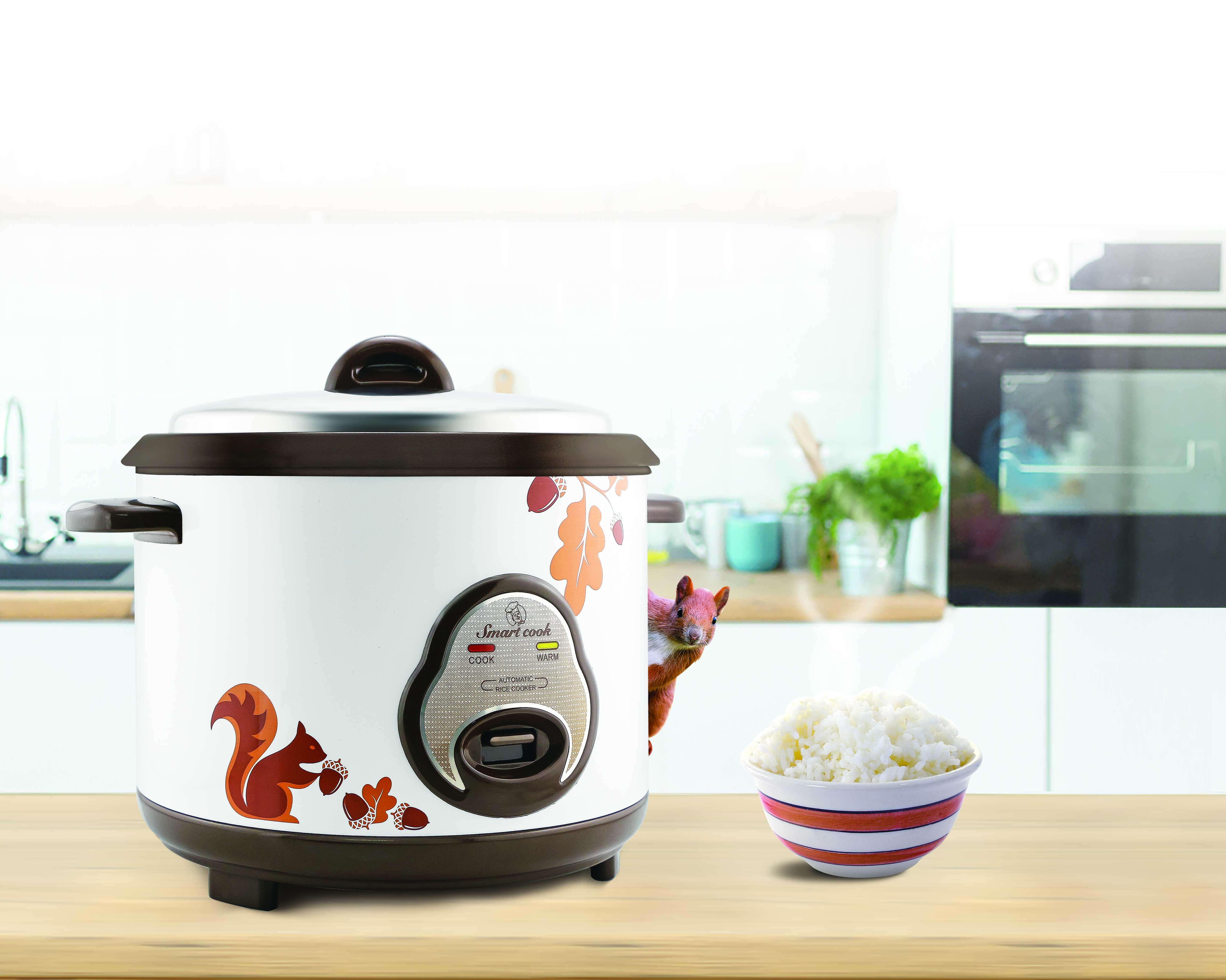 Electric rice cooker smartcook 1,2 L RCS-1786